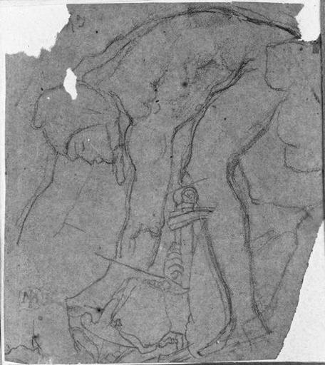 Soldat ramassant le corps d'Acron (et page de dos)_0