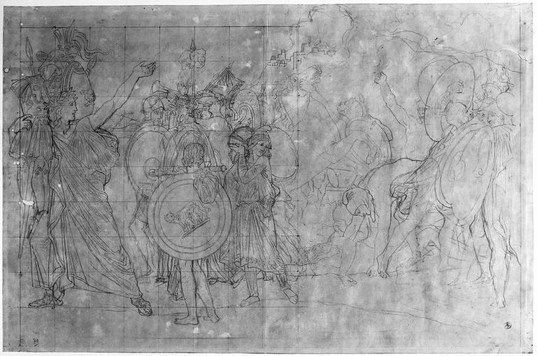 Romulus, vainqueur d'Acron (Ensemble de la composition)