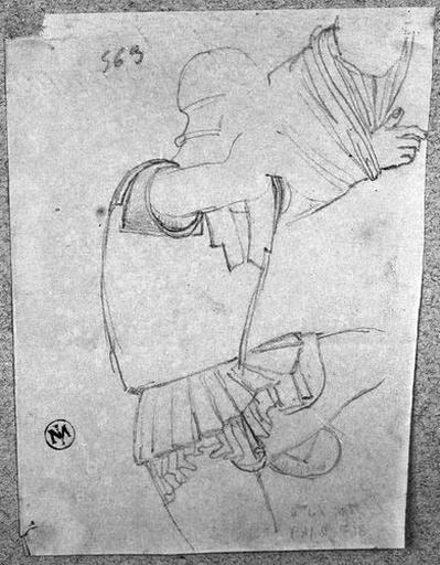 Cuirasse d'un tireur à l'arc (et bras d'un autre personnage)_0