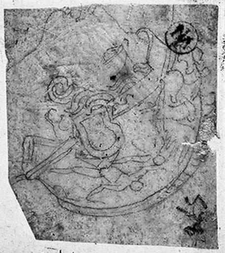 Casque grec (orné d'un bas-relief représentant deux personnages et un animal)_0
