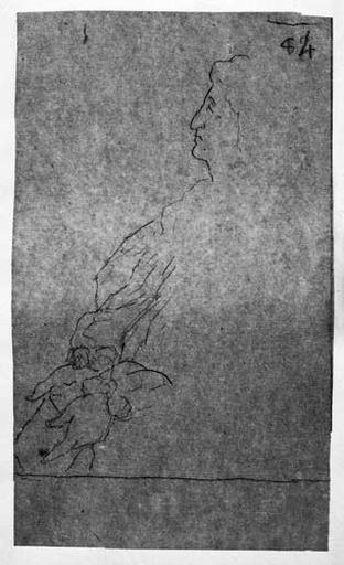Racine (Avec papier dans les deux mains)