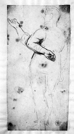 Socrate (Surtout son bras gauche, avec variante)