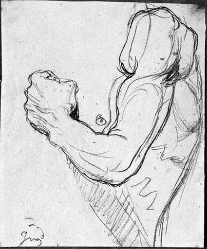 Saint François d'Assise (Son bras gauche)