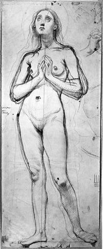 Sainte Rosalie (Nue, de face, les mains jointes, et reprise des mains)_0