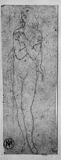L'âme (Jeune fille nue, debout, les bras croisés sur la poitrine)_0