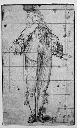 Personnage du temps de Louis XIII (En pied, de face)_0