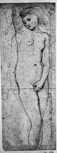 Campaspe (Nue, de face, le bras droit relevé et le gauche cachant son sexe, avec variante du bras droit baissé)_0