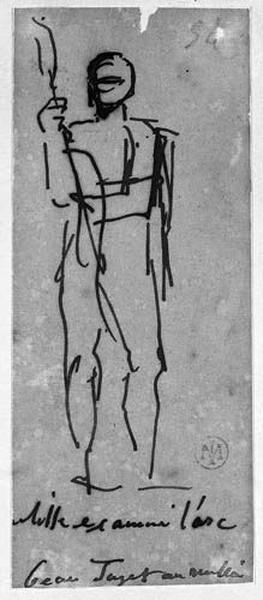 Ulysse (Nu, de face, s'apprêtant à bander son arc)_0