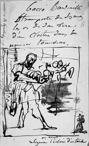 Baccio Bandinelli et le cadavre de son père_0