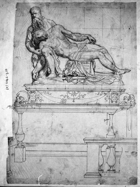 Monument funéraire (D'après Baccio Bandinelli)_0
