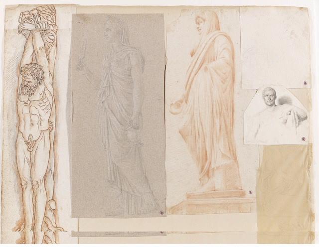 Ménandre (D'après une sculpture conservée au musée du Vatican à Rome)_0
