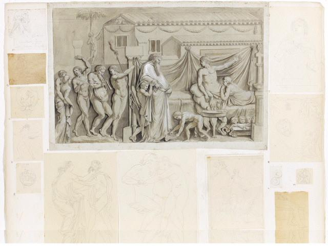 Dionysos (D'après un bas-relief du musée de Naples)_0