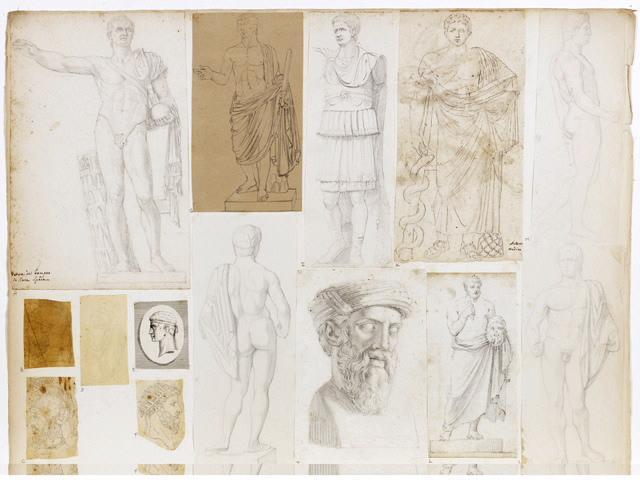 Statue d'homme drapé_0
