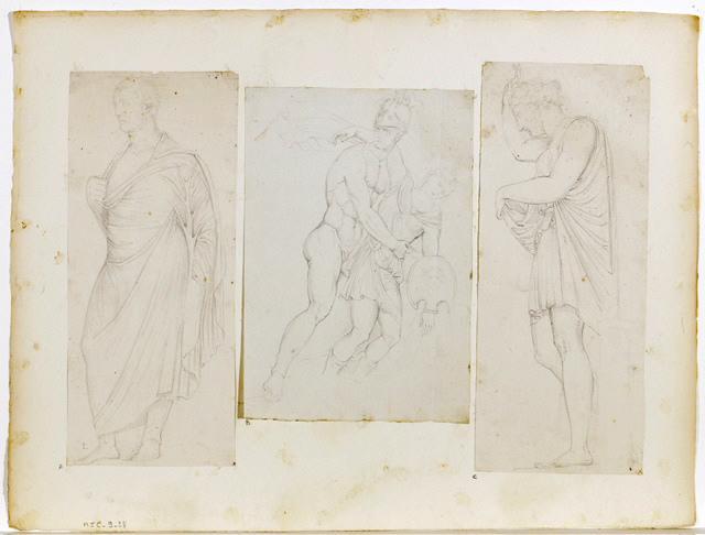 Achille et Penthésilée (D'après le Sarcophage des Amazones)_0