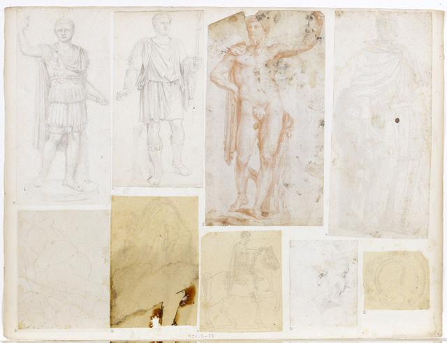 Statue d'empereur romain_0