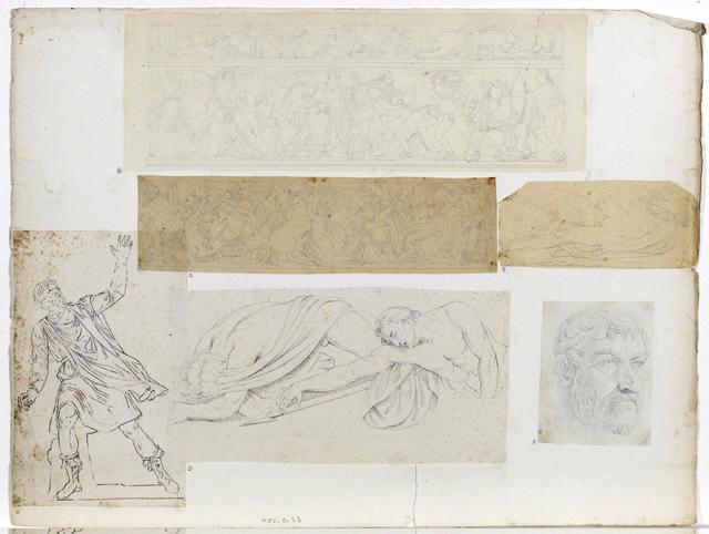 Sarcophage romain, scène de massacre_0