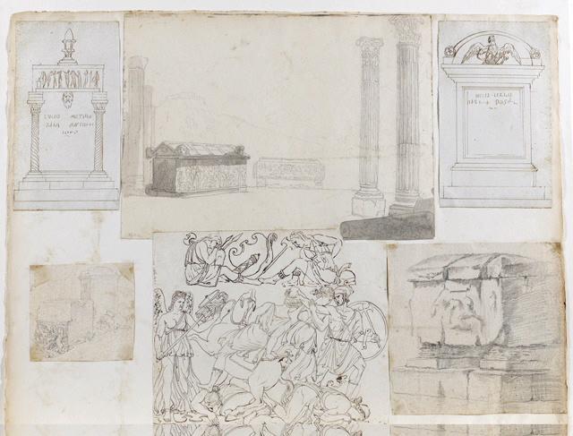 Sarcophages et colonnes_0