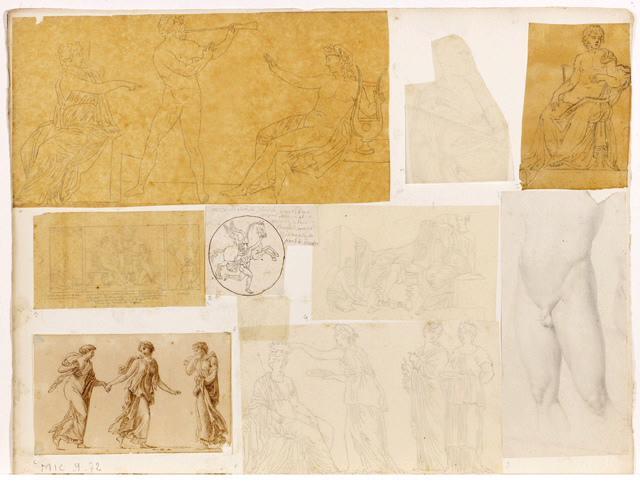 Marsyas, Apollon et une muse_0