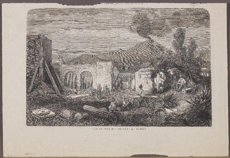 journal : Etat présent des fouilles de Pompéï