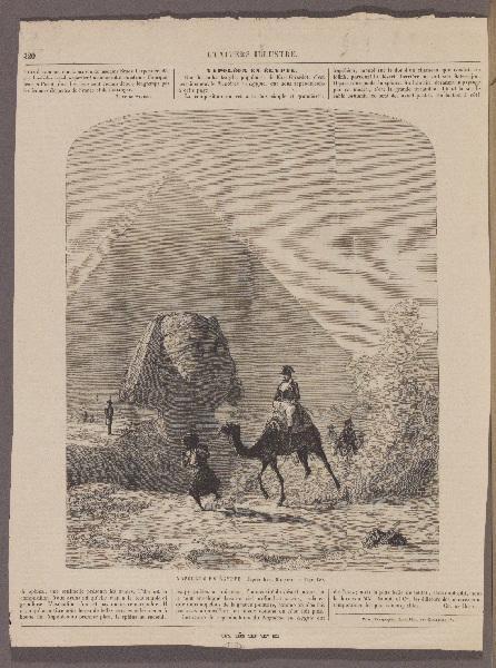 Napoléon en Egypte ; L'Univers Illustré_0