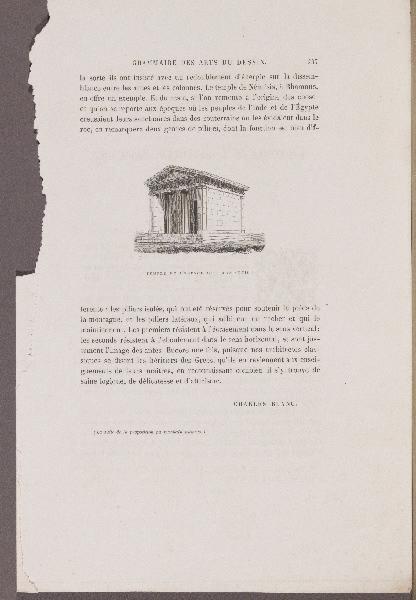 BLANC Charles (auteur), MANTZ Paul (auteur) : L'Histoire de l'Orfèvrerie Française, Grammaire des Arts du Dessin, Gazette des Beaux-Arts