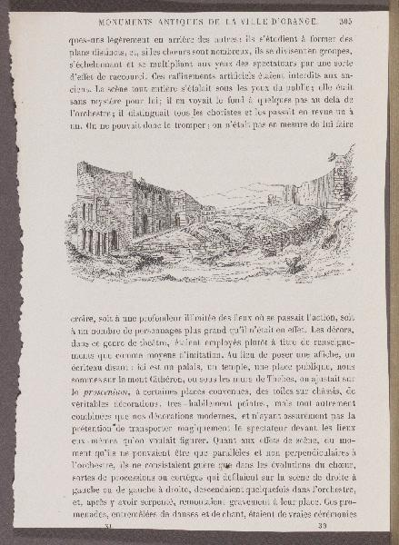 Monuments Antiques de la Ville d'Orange ; Gazette des Beaux-Arts_0
