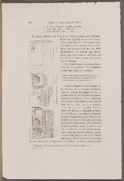 LENORMANT François (auteur), GAUCHEREL Léon (graveur), MOUARD Eugène (graveur) : Travaux exécutés à Eleusis, Gazette des Beaux-Arts