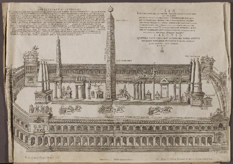 BEATRIZET Nicolas, GRATIANI Pauli (graveur)