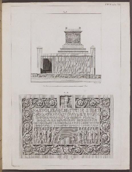 MAZOIS François (archéologue, architecte), BALZAR (graveur)