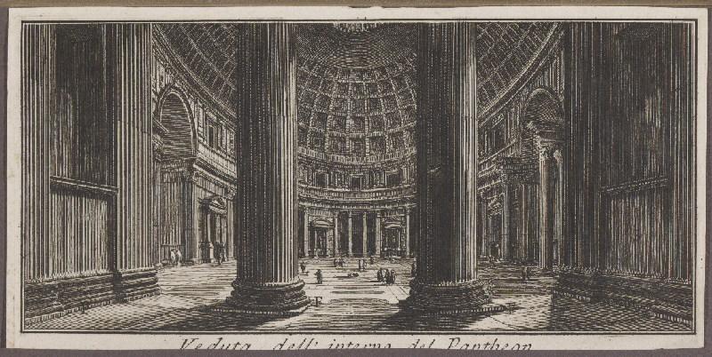 : Veduta dell'interno del Pantheon