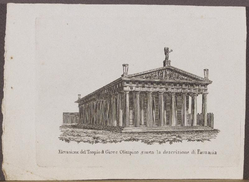 Elevazione del Tempio di Giove Olimpico giusta la descrizione di Pausania_0