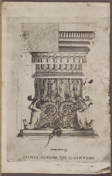 : Ornamenti del passato tempio