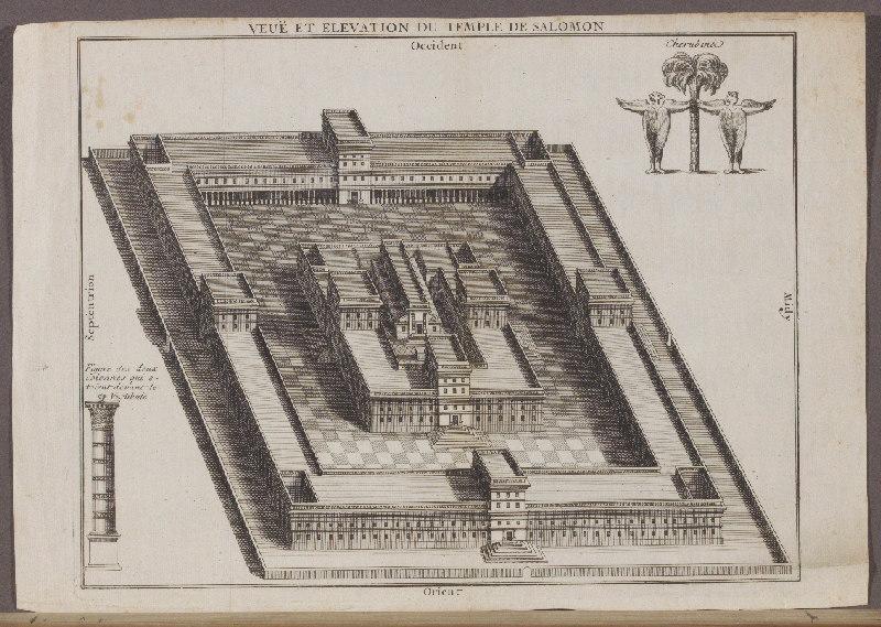 Veuë et élevation du Temple de Salomon_0