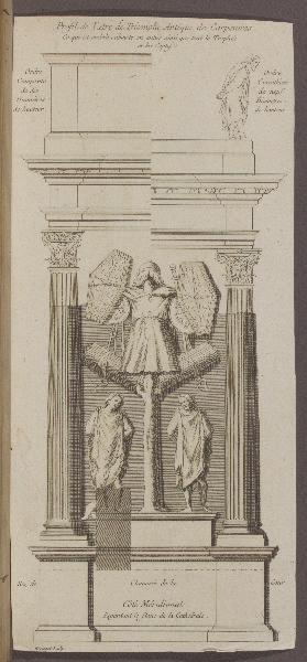 Profil de l'Arc de Triomphe de Carpentras_0