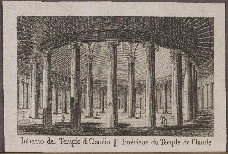 Intérieur du Temple de Claude_0