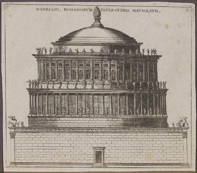 Hadriani, Romanorvm Imperatoris, Mavsolevm_0