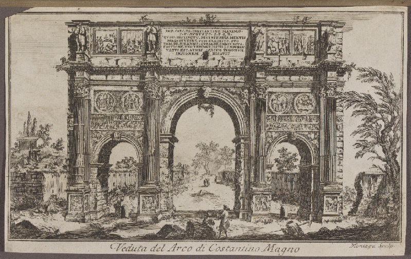 Veduta del Arco di Costantino Magno_0