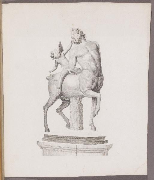 anonyme : Centaure chevauché par l'amour
