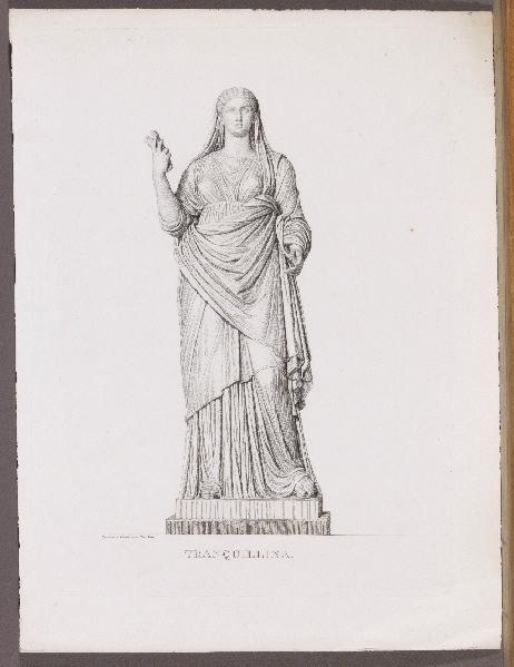 BOUILLON Pierre (graveur, dessinateur) : Tranquillina