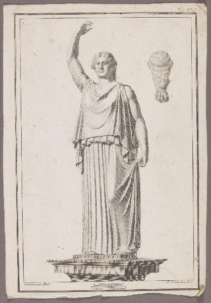 CAMPANA Pietro (graveur), CASANOVA Francesco Giuseppe (graveur, dessinateur)
