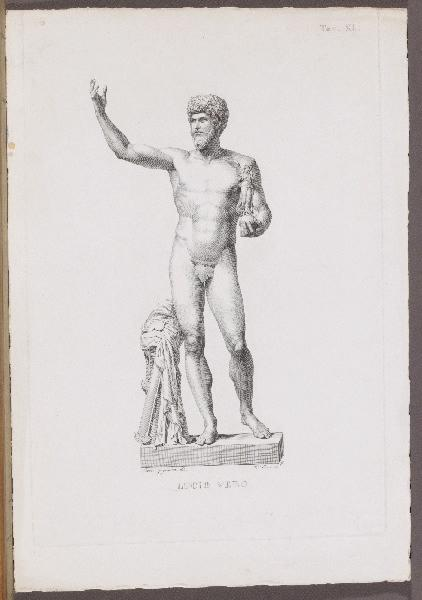 CONSORTI Bernardino (graveur), GUGLIELMI Paolo (graveur, dessinateur) : Lucio Vero