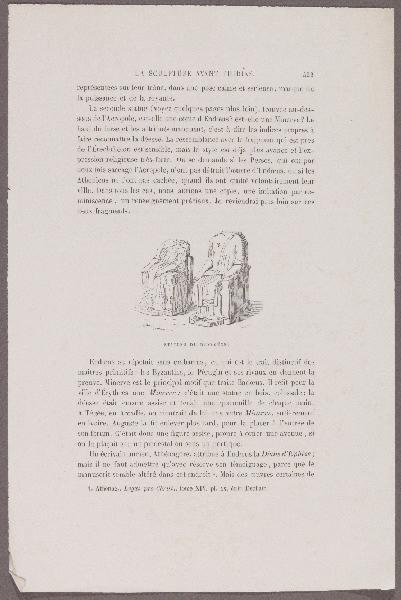 Gazette des Beaux-Arts ; La sculpture avant Phidias_0