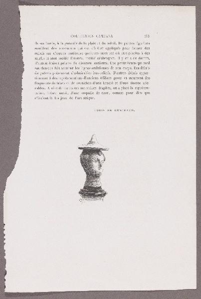Gazette des Beaux-Arts ; Le Palais de la Farnésine ; Collection Campana_0