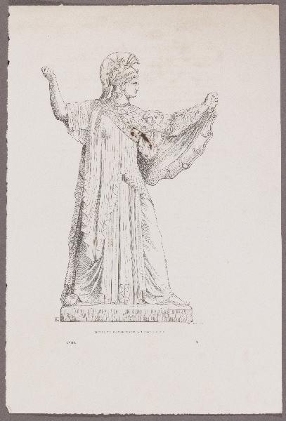 Gazette des Beaux-Arts ; Minerve Eginée d'Herculanum_0