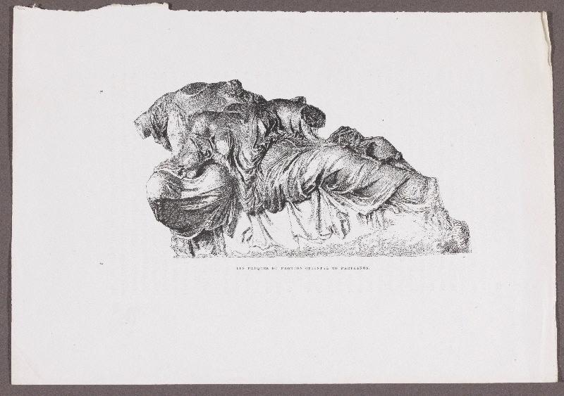 Gazette des Beaux-Arts ; Les Parques du fronton oriental du Parthénon_0