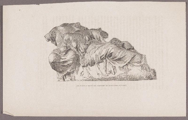 Gazette des Beaux-Arts ; Les Figures dites les Parques_0