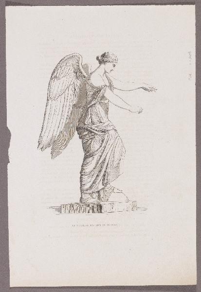 Gazette des Beaux-Arts ; La Victoire antique de Brescia_0