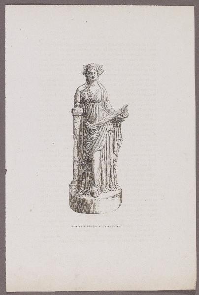 GAZETTE DES BEAUX-ARTS (éditeur) : Gazette des Beaux-Arts, Statuette antique en terre cuite