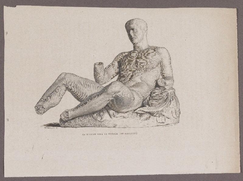 Gazette des Beaux-Arts ; La figure dite le Thésée (ou Bacchus)_0