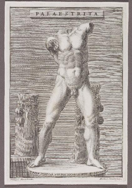 SORELLO Michele (graveur), MONDELLI Philippus (graveur, dessinateur) : Palaestrita